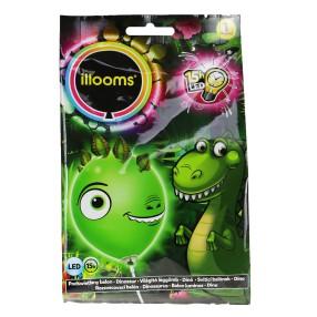 Illooms - Podświetlany balon LED Dinozaur 80055