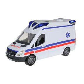 Dickie SOS - Samochód VAN ratunkowy z dźwiękiem i światłem 3716002 B