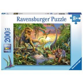 Ravensburger - Puzzle XXL Świat dinozaurów 200 elem. 128297