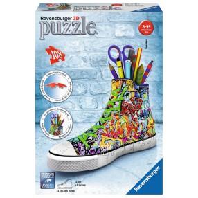 Ravensburger - Puzzle 3D Przybornik Trampek Graffiti 108 elem. 125357
