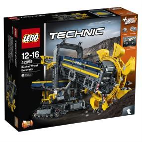 LEGO Technic - Górnicza koparka kołowa 2w1 42055