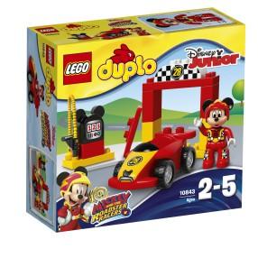 LEGO Duplo - Wyścigówka Mikiego 10843