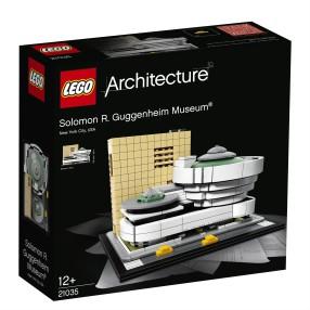 LEGO Architecture - Muzeum Solomona R. Guggenheima 21035