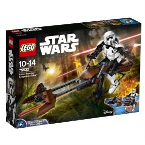 LEGO Star Wars - Zwiadowca szturmowców i jego śmigacz 75532