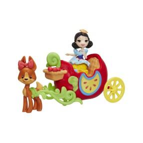 Hasbro Disney Princess - Jałkowy powóz i lalka Śnieżka C0534