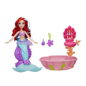 Hasbro Disney Princess - Lalka syrenka Ariel zmieniająca kolor w Spa C0539