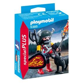 Playmobil - Wojownik z wilkiem 5385