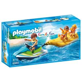 Playmobil - Jet ski z bananową łódką 6980