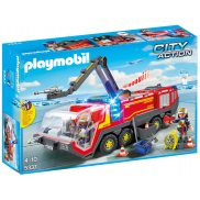Playmobil - Pojazd strażacki na lotnisku ze światłem 5337