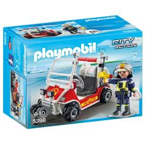 Playmobil - Quad straży pożarnej 5398