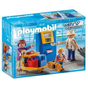 Playmobil - Rodzina przy automacie check-in 5399