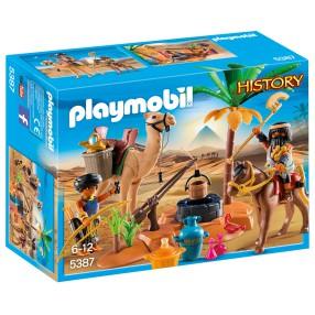 Playmobil - Obóz plądrowników grobów 5387