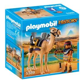 Playmobil - Egipski wojownik z wielbłądem 5389