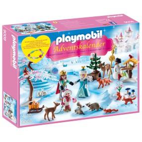Playmobil - Kalendarz adwentowy Lodowa księżniczka w zamkowym parku 9008