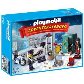 Playmobil - Kalendarz adwentowy Akcja policyjna w sklepie jubilerskim 9007