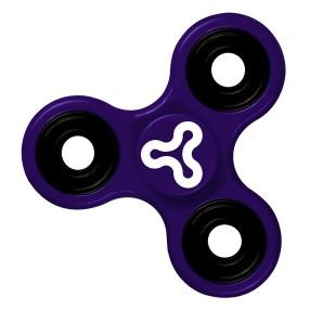 Trick Spin Fidge Spinner - Zabawka zręcznościowa Fioletowy DKS8290