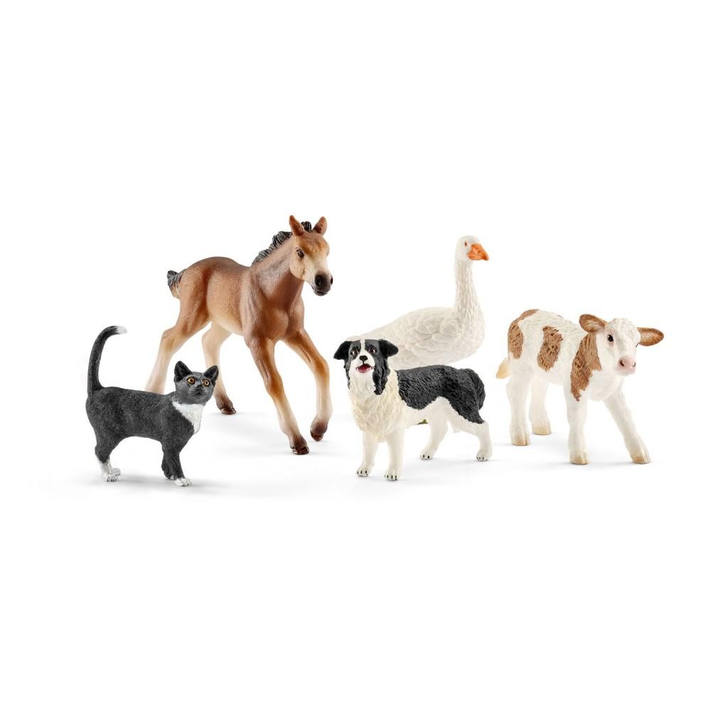 Schleich - Zestaw zwierzęta gospodarskie 42386