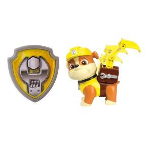 Psi Patrol - Figurka akcji z odznaką Rubble 20064336