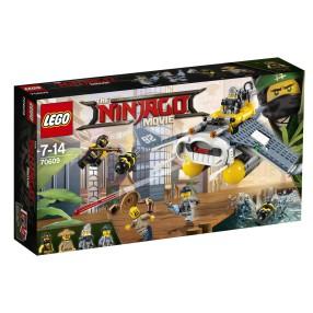 LEGO Ninjago Movie - Bombowiec Manta Ray 70609