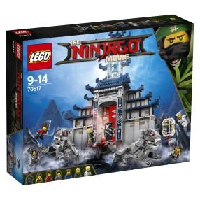 LEGO Ninjago Movie - Świątynia broni ostatecznej 70617