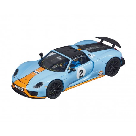"Carrera DIGITAL 132 - Porsche 918 Spyder ""Gulf Racing No.02"" 30788"