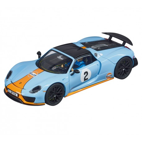 "Carrera EVOLUTION - Porsche 918 Spyder ""Gulf Racing No.02"" 27549"