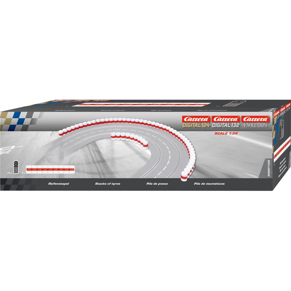 Carrera DIGITAL 124/132 - Bandy z opon 21130