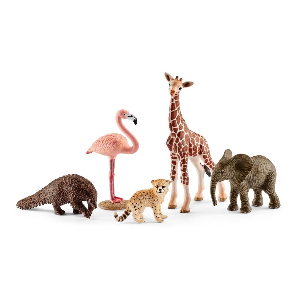 Schleich - Zestaw dzikie zwierzęta 42388