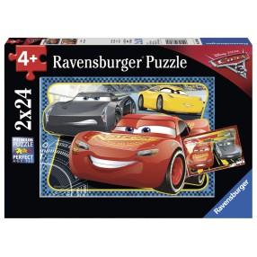 Ravensburger - Puzzle Auta 3 Zygzak McQueen 2x24 elem. 078080