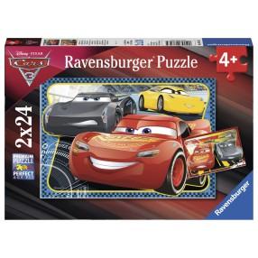 Ravensburger - Puzzle Auta 3 Zwycięzca 2x24 elem. 078165