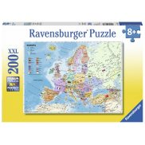 Ravensburger - Puzzle XXL Mapa polityczna Europy 200 elem. 128372