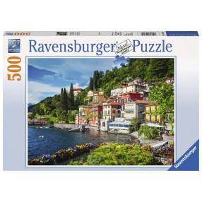 Ravensburger - Puzzle Włoskie jezioro 500 elem. 147564
