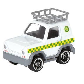 Simba - Strażak Sam Pojazd 1:64 Vet 4x4 3091000 A