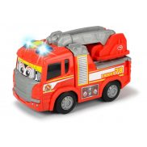 Dickie - Happy Scania Wóz strażacki z napędem Światło Dźwięk 3816003