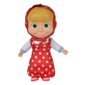 Simba Masza i Niedźwiedź - Miękka lalka Czerwona 23 cm 9306468 A