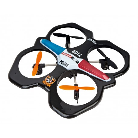 Carrera RC - Quadrocopter Police 2.4GHz Gyro-System 503014