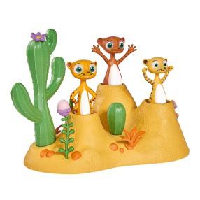 Simba - Zestaw Wissper Świat Pustyni - Monty i surykatki 9358318