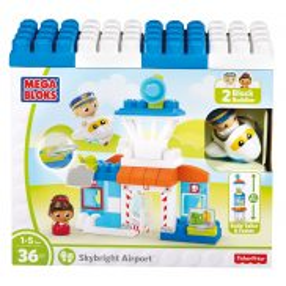 Mega Bloks Fisher Price - Podniebne lotnisko DPJ56