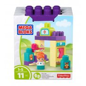 Mega Bloks Fisher Price - Gabinet weterynarza DYC55