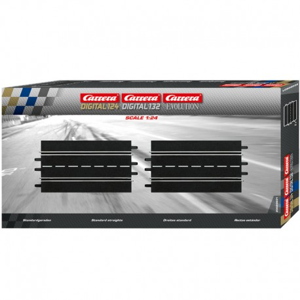 Carrera EVO/DIGITAL 124/132 - Proste 2 x 34,5cm 20601