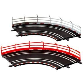Carrera GO!!! - Banda, ogrodzenie 10szt. 61651