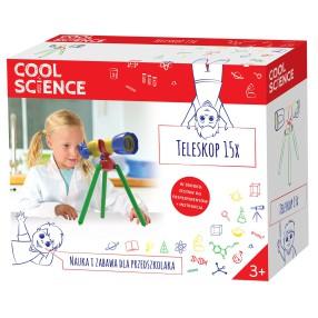 TM Toys - Cool Science Nauka i zabawa - Teleskop 15x DKN4005