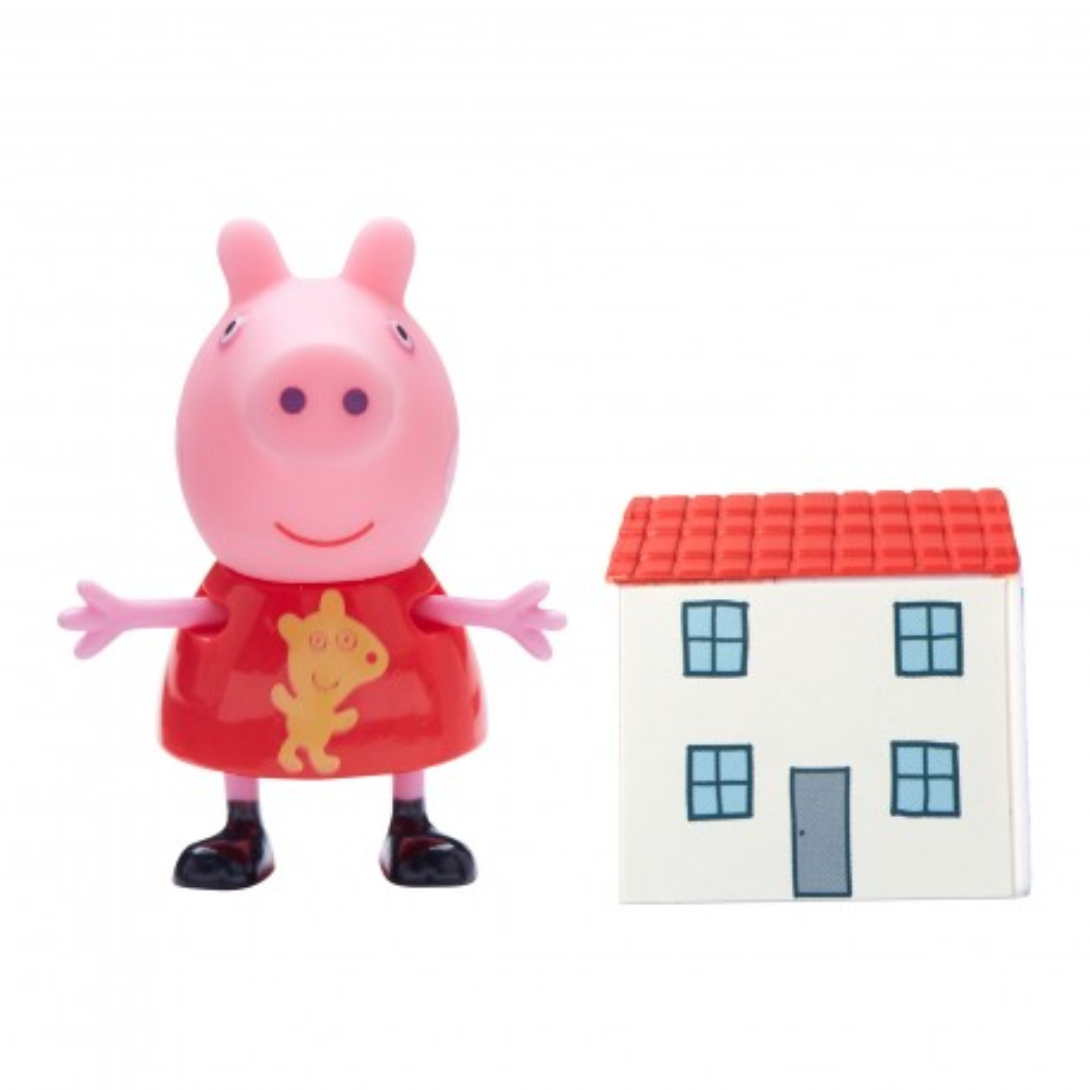 TM Toys Świnka Peppa - Figurka Peppa z domkiem 05680 D
