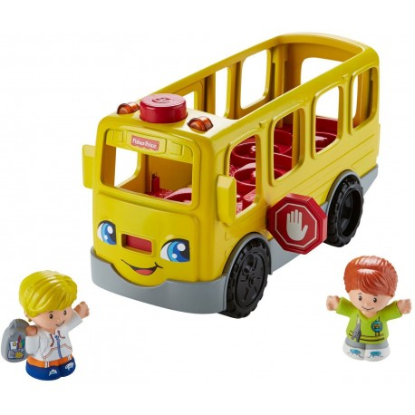 Fisher-Price Little People - Autobus Małego Odkrywcy FKX03