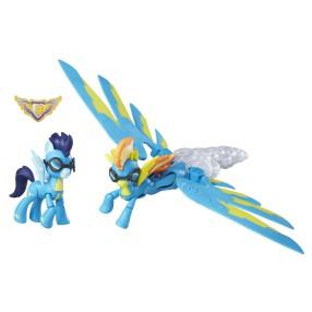 My Little Pony GOH - Ponaddźwiekowe Bum Spitfire i Soarin B6011