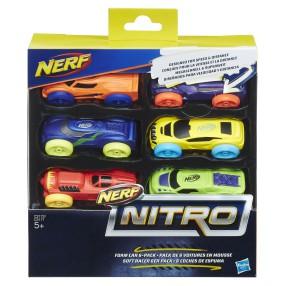 Hasbro Nerf Nitro - Refill uzupełnienie 6-pak C3172
