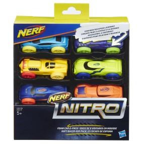Hasbro Nerf Nitro - Refill uzupełnienie 6-pak C3173