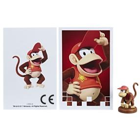 Hasbro - Gra Monopoly Gamer Figurka pionek Diddy Kong C1444 08
