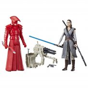 Hasbro Star Wars Force Link E8 - Figurki deluxe 2-pak Rey i Elite Praetorian Guard C1243