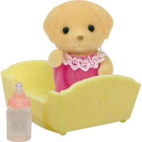 Sylvanian Families - Dziecko biszkoptowych labradorów 5187